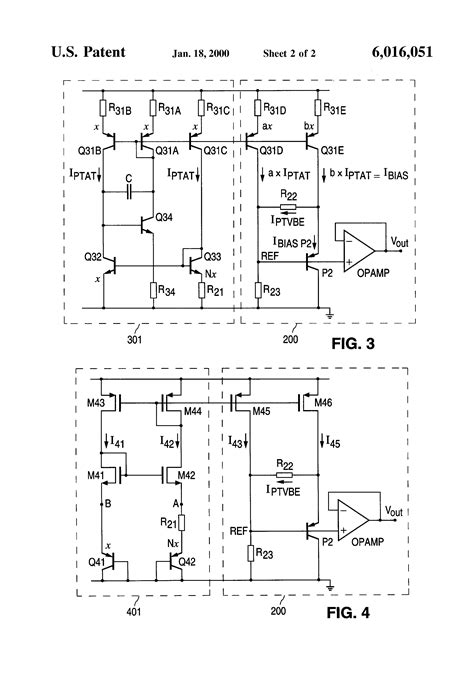 band gap resistor patent us6016051 bandgap reference voltage circuit with ptat current source patenten
