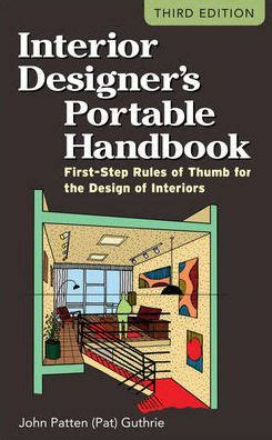 interior designers portable handbook  step rules
