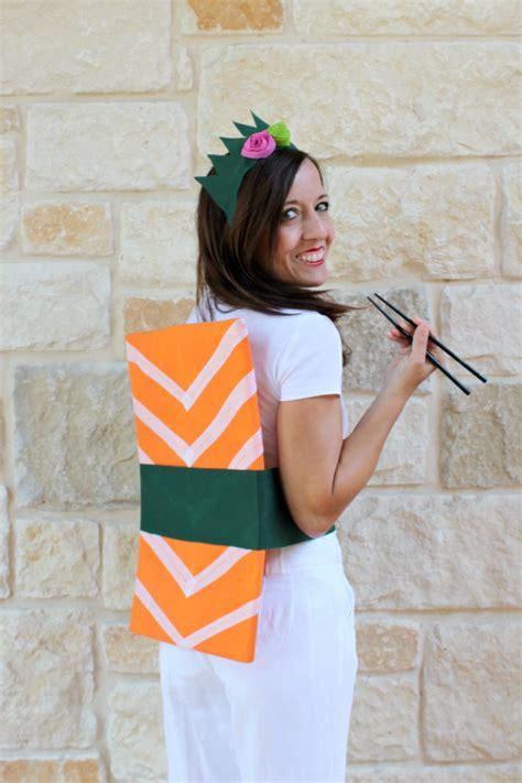 costumi carnevale fatti in casa come realizzare un costume da carnevale da sushi in casa