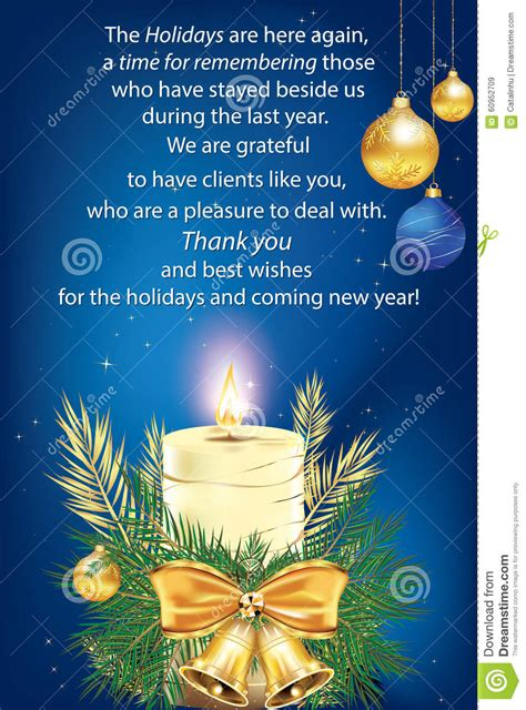 blue business greeting card stock illustration image