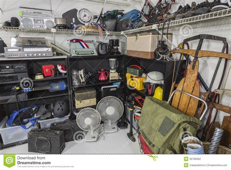 dealers in household accessories vintage garage sale corner stock photography image 30789362