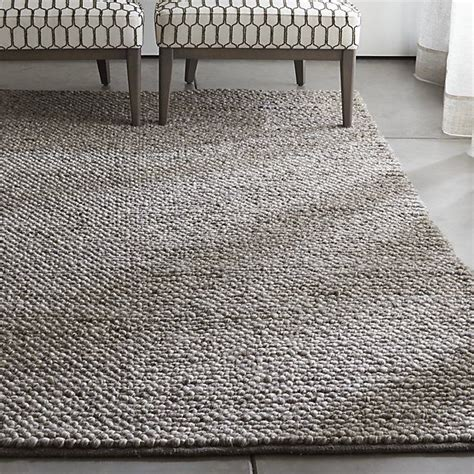 rugs crate and barrel ivan felted wool rug textiles wool rug crates and barrels