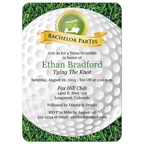 golf gift golf party golf decor golfing art gift for bachelor party invitation golf golfing theme golf