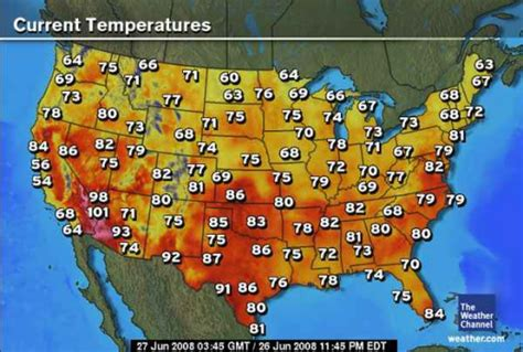 us golf weather map color and temperature perception is everything watts up