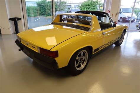 porsche 914 yellow used canary yellow porsche 914 for sale lincolnshire