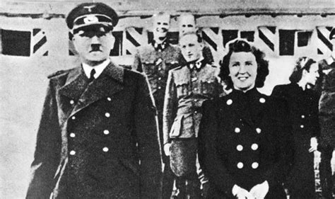 hitler biography death revealed eva braun letters tell of death with adolf