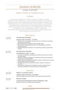 Apple Developer Sle Resume by Application Developer Resume Sles Visualcv Resume Sles Database