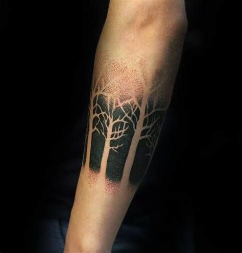 blackwork tattoo designs 50 simple tree designs for forest ink ideas