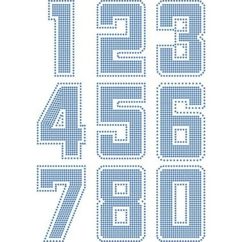 printable sports numbers 13 best fonts images on pinterest letters numbers and