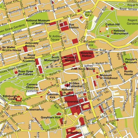 map of edinburgh scotland edinburgh scotland tourist map edinburgh mappery