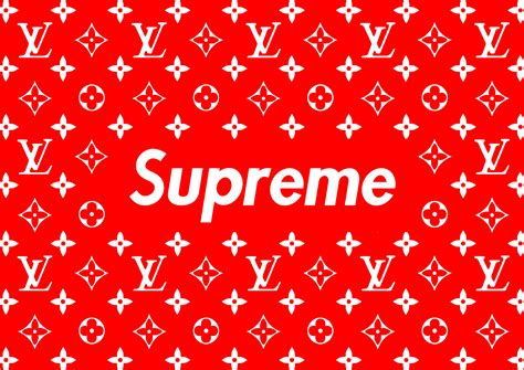 Louis Vuitton X Supreme L02 supreme x louis vuitton wallpapers supreme