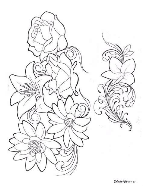 desenho de flores desenho flores para 100 p 225 ginas r 74 90 em