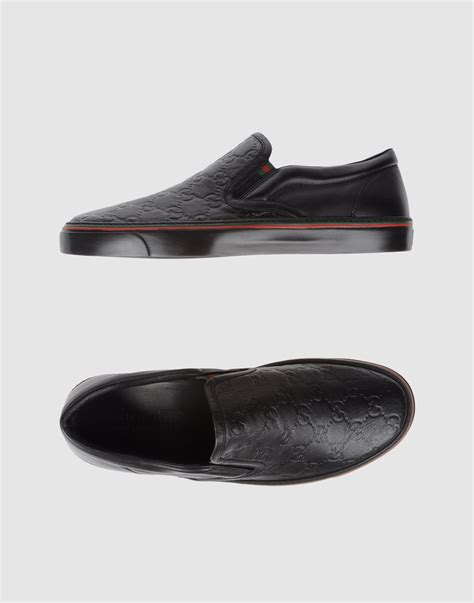 Slip On Gucci 1 gucci slip on sneaker in black for lyst