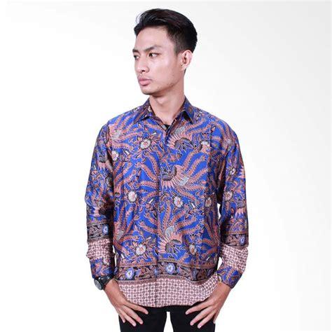 Batik Pria Lengan Panjang Kemeja Batik Pria Batik Slimfit D 642 jual batik putri ayu kemeja batik pria lengan panjang