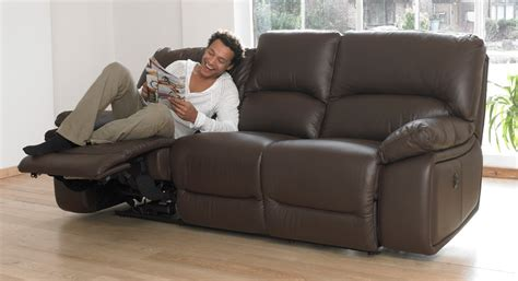 3 Seat Recliner Sofa Lucca 3 Seater Electric Recliner Sofa