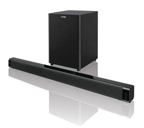 sound bar on top of tv logik l32swlb14 sound bar deals pc world