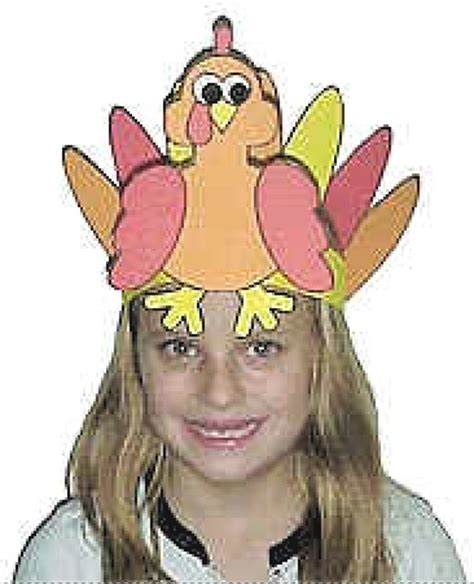 Printable Turkey Hat Turkey Hat Craft Template