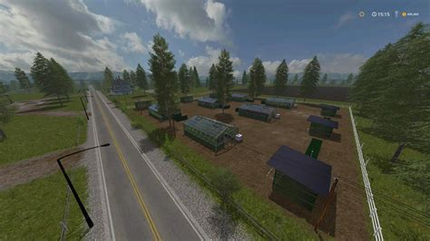 small towns usa small town usa v3 map farming simulator 2017 17 ls mod