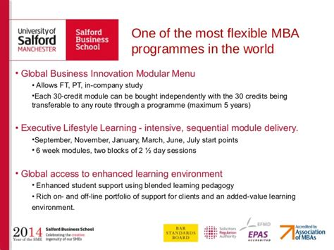 Salford Executive Mba by The Salford Mba At Salford Business School