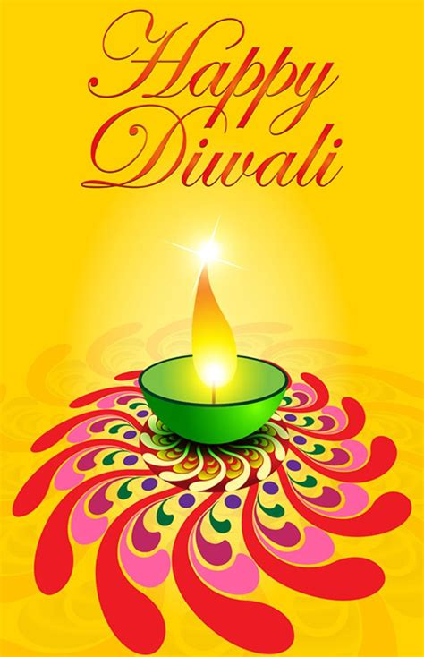 Free Diwali Cards Templates by Happy Diwali Vector Free Vector Template Of Postcard