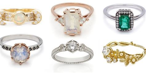 unique engagement rings 11 stunning styles you ll fall in