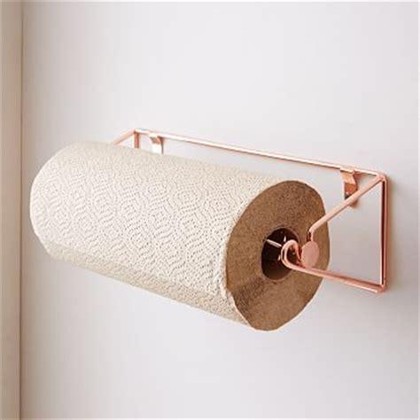 Paper Towel Rack by Copper Wire Kitchen Paper Towel Rack West Elm