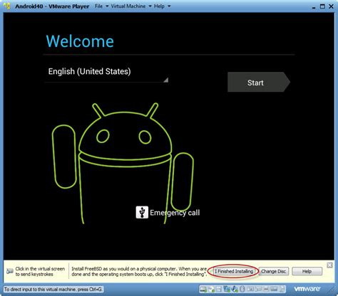 vmware android how to android 4 0 sandwich using vmware player spk and associates