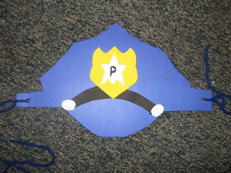 community helpers crafts for community helper hat preschool theme