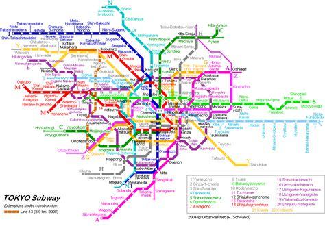 news tourism world: Tokyo Underground Map Pictures