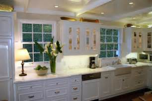 Country Kitchen With White Cabinets White Country Kitchen Cabinets Write