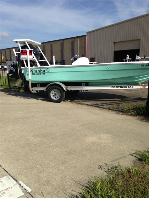 piranha flats boats for sale 17 piranha flats boat the hull truth boating and