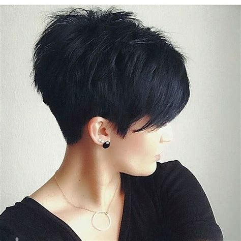 pixie cut with long fringe short hair pinterest long 873 best images about short and sassy haircuts on