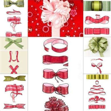 how to tie a ribbon how to tie a diy ribbon bow for gift packaging