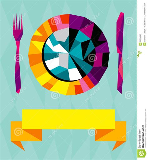 Origami Restaurant - origami restaurant composition royalty free stock photo