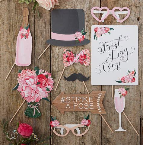 boho wedding photo booth props ideas for a diy wedding from wedding favours to diy wedding