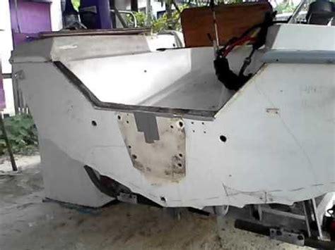 small boat transom repair boat transom repair made easy diy youtube 7 boat
