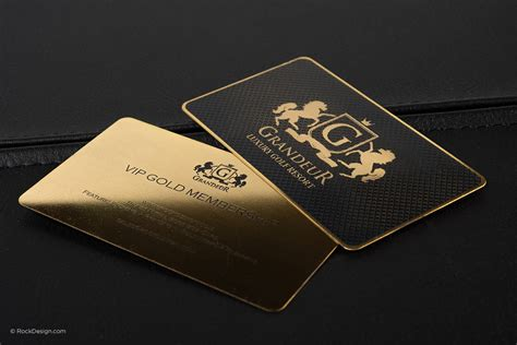 Gold Buisness Card Template by Free Gold Business Card Template With Print Service