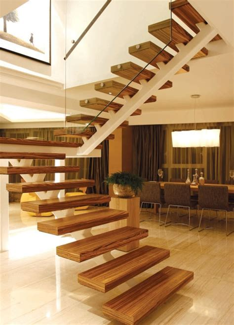 indoor and outdoor wood composite staircase with glass designs