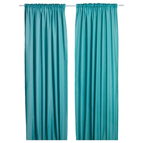 turquoise curtains ikea the gallery for gt ikea vivan curtains turquoise