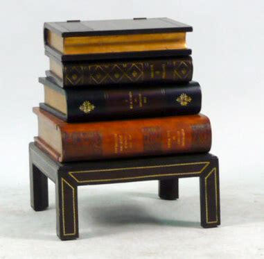 lift top side table igavel auctions maitland smith book form lift top side