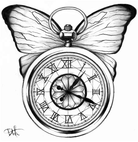 40 best clock tattoos images on pinterest clock