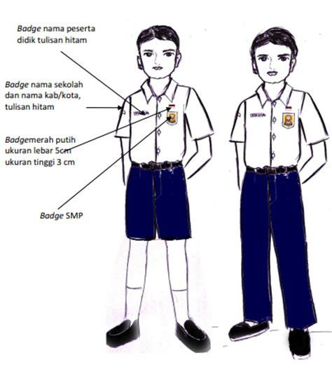Celana Pendek Smp Biru permendikbud nomor 45 tahun 2014 tentang pakaian seragam