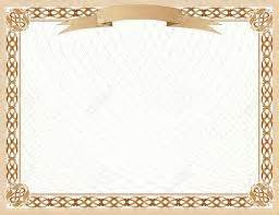 blank certificates certificate templates