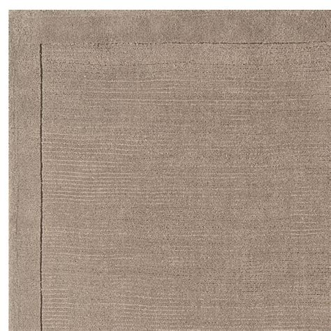 Small Wool Rug by Small Plain Taupe Wool Rug On Sale 163 25 Free Delivery