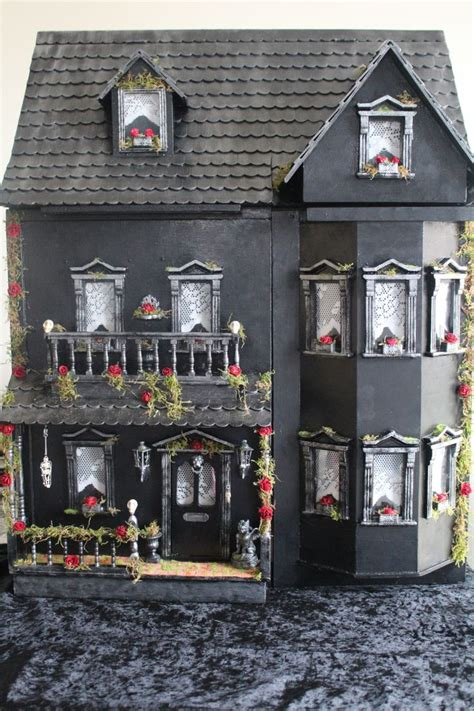 adult dolls house my gothic inspired dollhouse miniatures pinterest