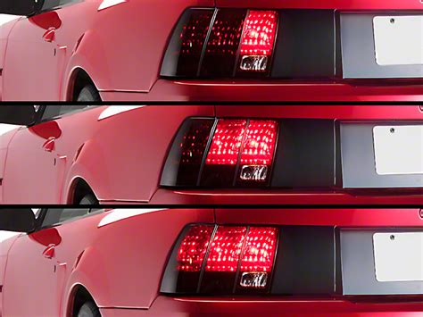 99 04 mustang sequential tail light kit axial mustang sequential tail light kit cut and splice