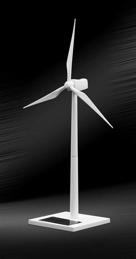 BL FC06 Desktop Model Solar Powered Wind Turbine &Zinc