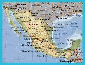 map of eastern us and mexico east coast mexico map