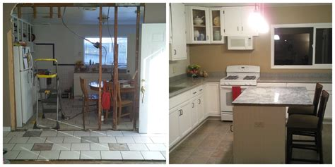house remodel before and after