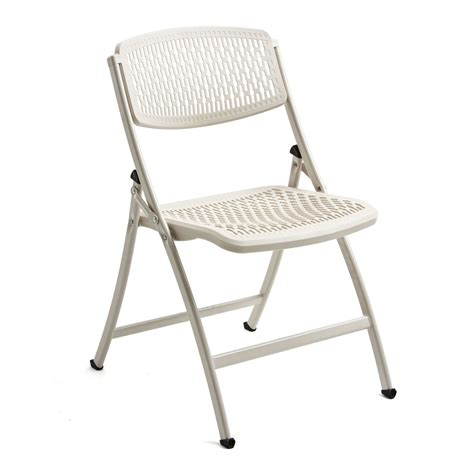 Flexlite Chair by Flex One Folding Chair From Mity Lite White